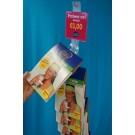 Kunststof clipstrip om doosjes op te hangen