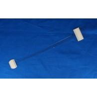 Wobbler 327S, 210 mm, 400 micron, schuimklever, Smal, per 100 stuks