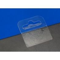 Transparante Eurolocksticker om producten op te hangen