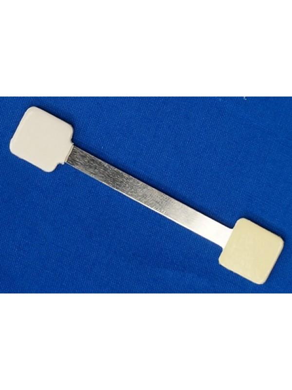 Aluminium Wobbler met 3 kleefpads