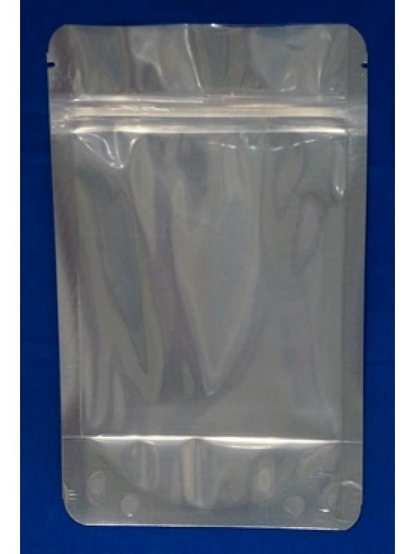 Doypack Stazak Aluminium met Venster en met Druksluiting