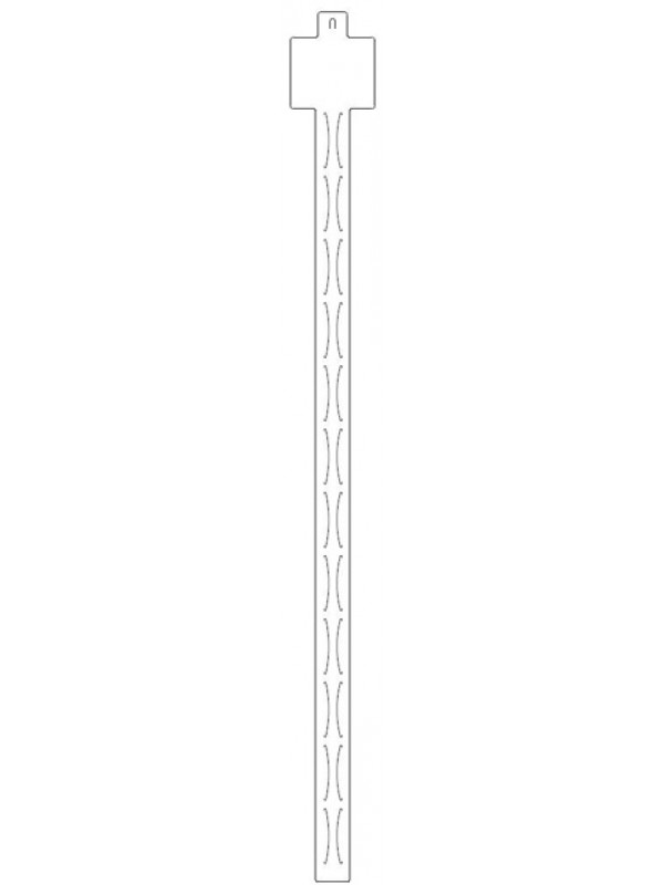 Hangstrips met 12 vulmogelijkheden