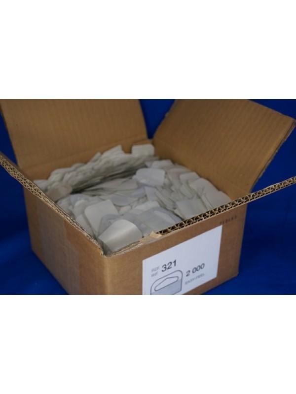 Hangtabs met een deltahole in doos