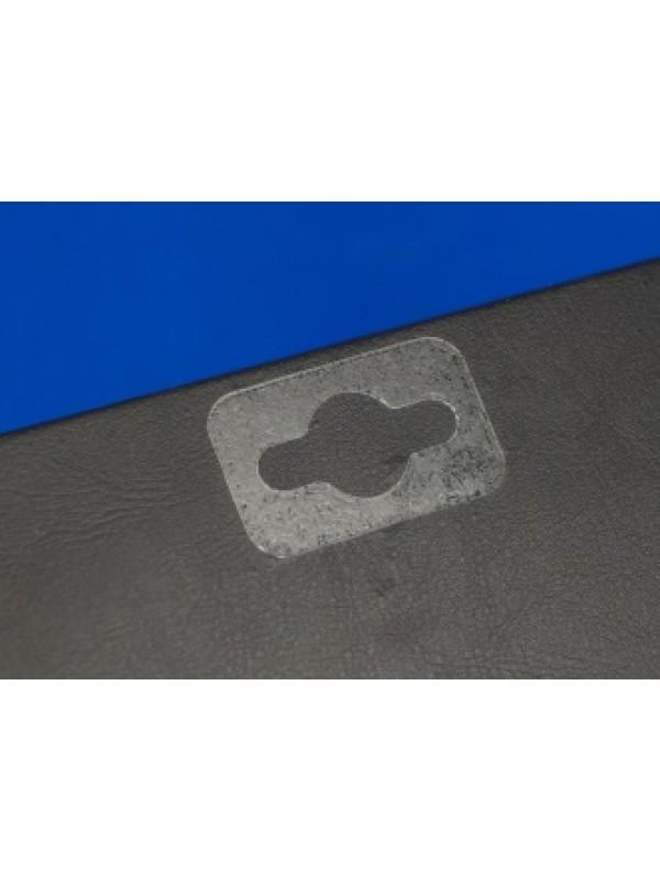 Hangtab, 1 zijde volledig lijm voor herstellen of verstevigen van kapotte verpakkingen