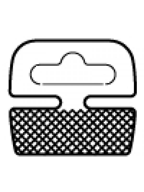 Hangtabs met Eurohole voor ronde producten