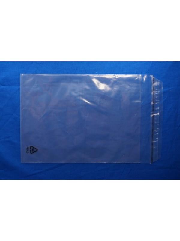 LDPE zakken met klep zelfklevend uit voorraad