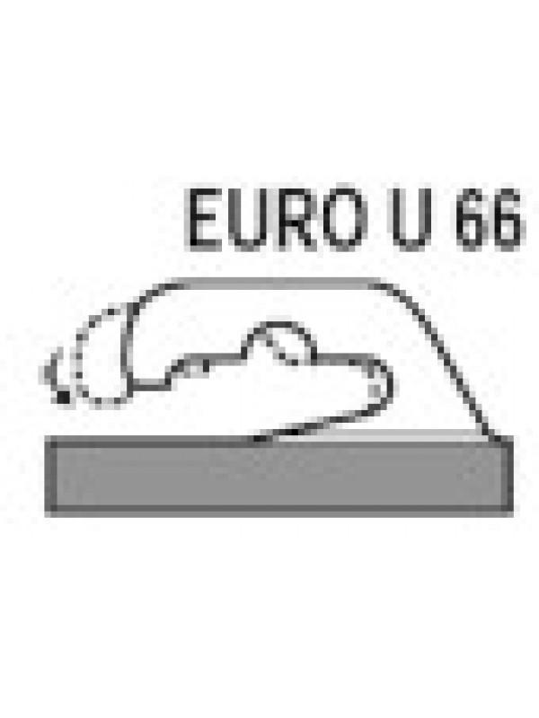 Zelfklevende haak U 66 EURO
